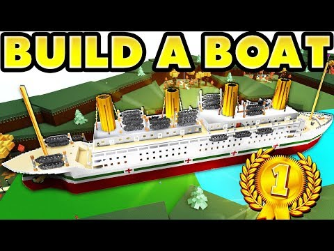 Build a Boat Titanic! 🏆 (100.000 BLOCKS!) World Record!