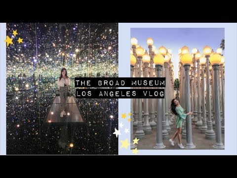 Los Angeles Travel VLOG | The Broad Museum, LACMA, American Snacks | Jenny Zhou 周杰妮