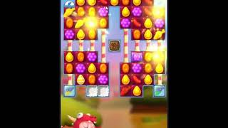 Candy Crush Friends Saga Level 447 - NO BOOSTERS 👩‍👧‍👦 | SKILLGAMING ✔️