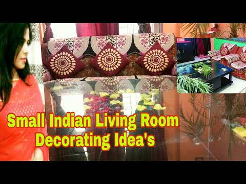 Small Indian Living Room Decorating ideas | Living Room Tour & Design Idea's | DIY