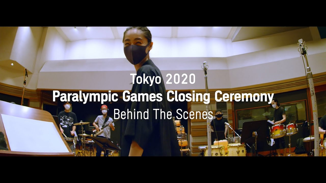 Tokyo 2020 Paralympic Closing Ceremony Behind the Scenes