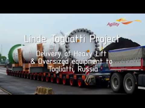 Delivery of Heavy Lift & Oversized equipment to Togliatti, Russia