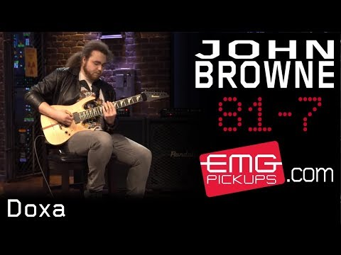 "John Browne of Monuments Performs ""Doxa"" for EMGtv"