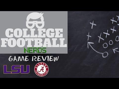 Game Review: Alabama Crimson Tide Vs LSU Tigers