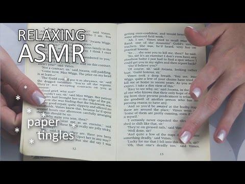 ASMR Reading part 1 of great book (🎧 soft spoken, paper sounds)