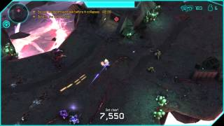 Halo: Spartan Assault - Mission D-1 - Xbox on Windows 8.1 PC