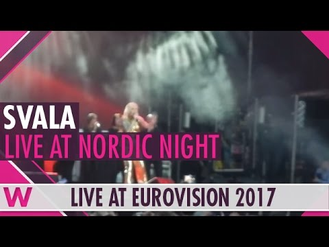 "Svala (Iceland 2017) ""Paper"" LIVE @ Nordic Night 2017"