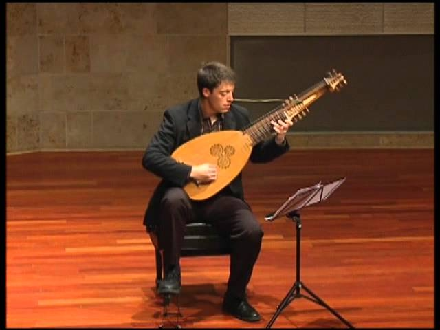 """Sonata 6; Alemanda"" by Giovanni Zamboni Romano performed by lutenist Adam Cockerham"