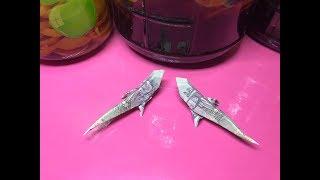 Cách gấp con thằn lằn bằng tiền giấy I Origami money gecko