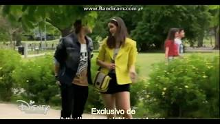 Soy Luna 2  Delfi and Pedro kiss (ep.66) (Eng. subs)