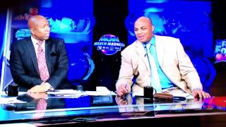 Charles Barkley on Shaquille O'Neal trying to fit in a Buick - after NCAA game on TruTV