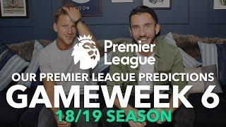 Premier League Tips - Gameweek 6 - 2018/2019