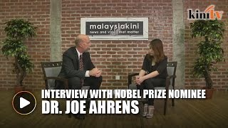 An Interview with 2015 Nobel Prize Nominee Dr Joe Ahrens