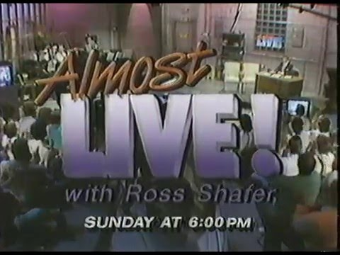 1987 Almost Live! with Ross Shafer Promo