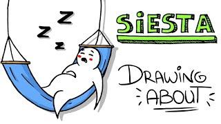 LA SIESTA PERFECTA | Drawing About con @GlóbuloAzul