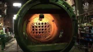 C58 239、ボイラー修復、煙管の取り外し