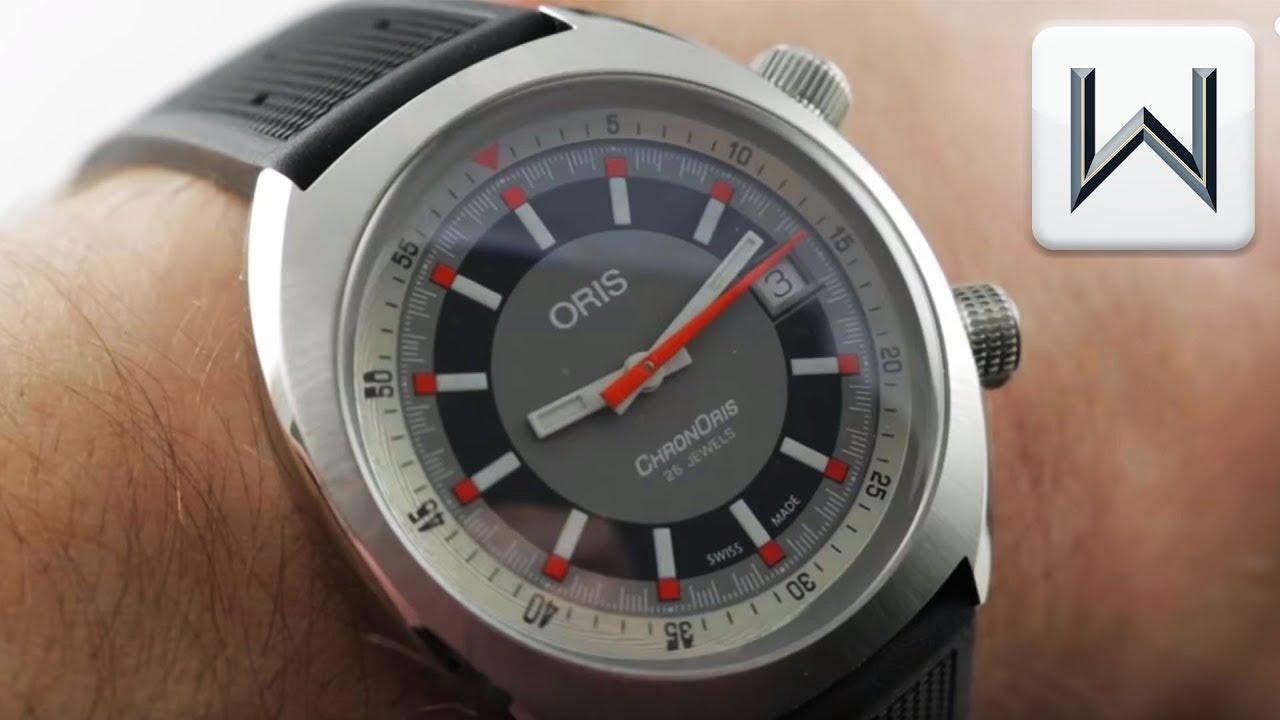 db84da696 Oris Chronoris Date (901 733 7737 4053) Luxury Watch Review - YouTube
