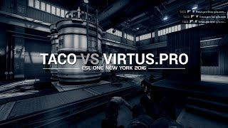 In the crosshairs: Taco vs Virtus Pro at ESL One New York