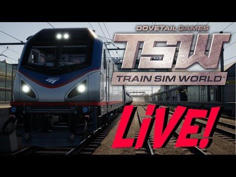 Train Sim World - Washington D.C. To Boston (LIVE!)