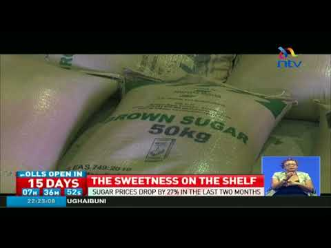 Sugar prices drop by 27% in the last two months
