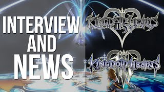 Kingdom Hearts 3 + 2.5 Interview and News