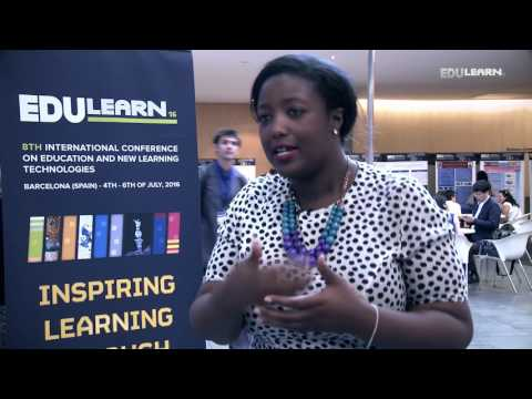 EDULEARN16: Interview with Anne-Marie Imafidon (Stemettes, UK)