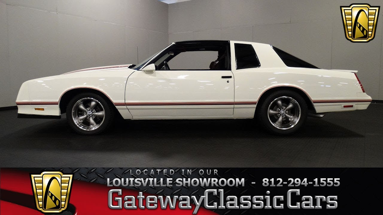 1987 Chevy Monte Carlo Ss For Sale >> 1987 Chevrolet Monte Carlo SS Aero Coupe - Louisville Showroom - Stock # 1570 - YouTube