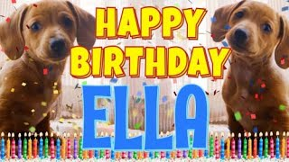 Happy Birthday Ella Funny Talking Dogs What Is Free On My Birthday Youtube