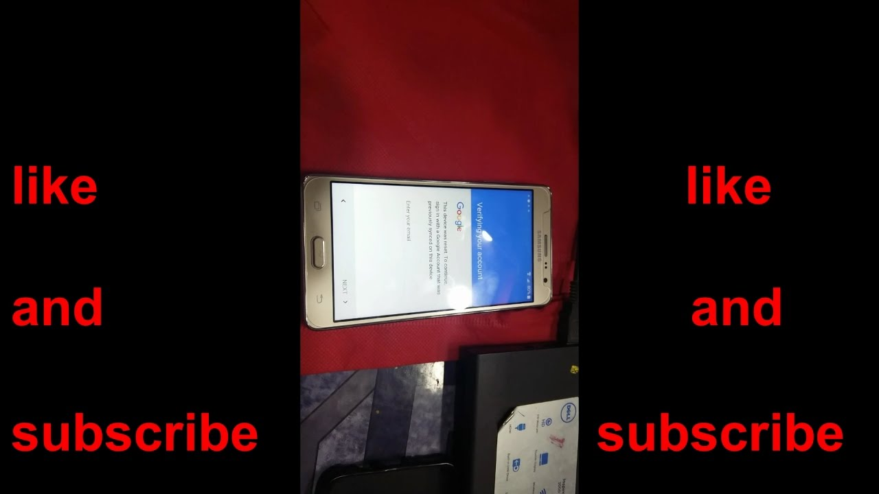 Mobile Info: Samsung Galaxy On7 Reset