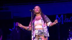 """Lalah Hathaway performs """"Angel"""" at Riverfront Jazz Festival in Dallas"""