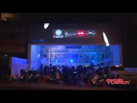 ZuAuto inauguró local para  motos Piaggio, Vespa, Aprilia y Moto Guzzi