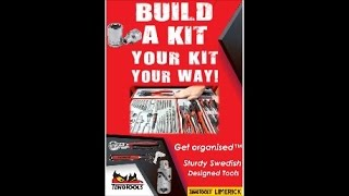 TengTools® Get organised™ Build a Kit, Your KIT, YOUR WAY ! Sturdy Swedish Designed Tools