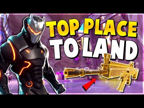 NEW BEST *UNKNOWN* PLACE to find LEGENDARY WEAPONS and EASY WINS (Fortnite Battle Royale Season 4)