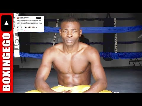 """RIGONDEAUX: """"IN BOXING NATIONALITY AND THE AMOUNT OF $ DETERMINES HOW BIG & POWERFUL DEAL W/ YOU"""""""
