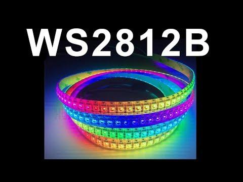Адресные светодиоды WS2812B и ардуино