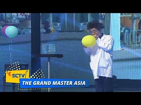 Hah! Tanba PECAHKAN Gelas Dengan Suaranya   The Grand Master Asia Top 6