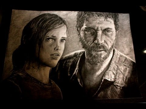The Last of Us Drawing Time lapse