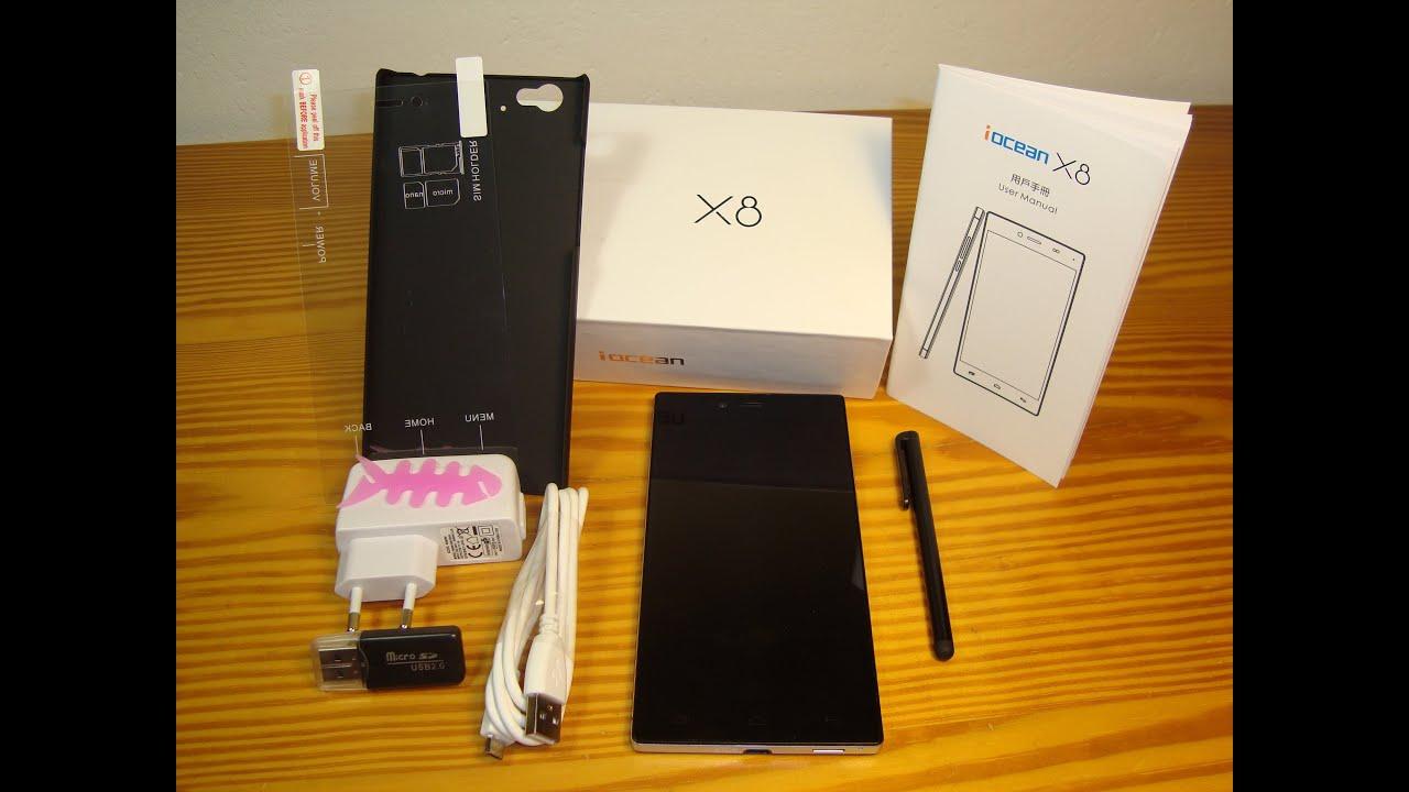 Unboxing iOcean X8 (3 Amazing, Aliexpress fake dealer, don't buy .