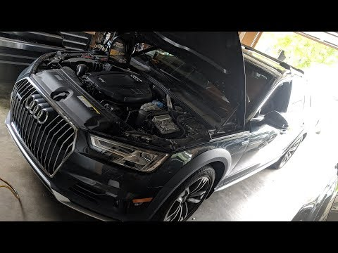 Audi A4 Oil Change Cost >> 2017 Audi A4 Allroad Detailed Diy Oil Change Guide Youtube