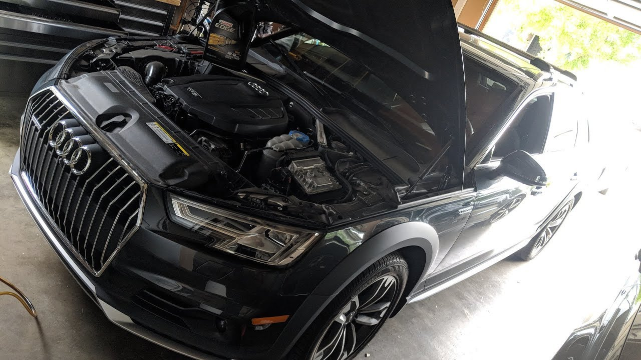 Audi A4 Oil Change Cost >> 2017 Audi A4 Allroad Detailed Diy Oil Change Guide