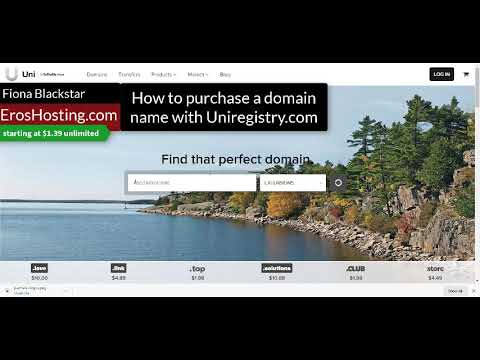 Free privacy registering your domain with uniregistry.  Unlimited hosting BUCK39.com EROSHOSTING.COM