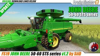 "[""BEAST"", ""Simulators"", ""Review"", ""FarmingSimulator19"", ""FS19"", ""FS19ModReview"", ""FS19ModsReview"", ""fs19 mods"", ""fs19 harvesters"", ""fs19 combains"", ""fs19 john deere"", ""JOHN DEERE 50-60 STS series""]"