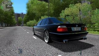 City Car Driving 1.5.2 BMW 750i L E38 TrackIR 4 Pro [1080P]