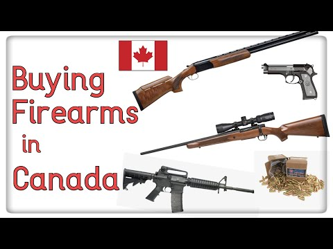 How To Buy A Gun In Canada - Step-by-step Process