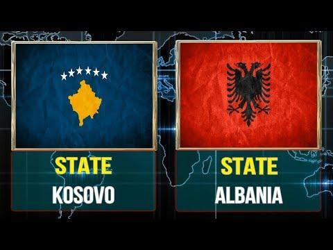 Kosovo vs Albania  -  Total Comparsion and Statistics  for  2018