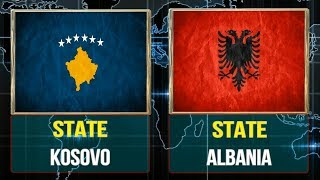 Gambar cover Kosovo vs Albania  -  Total Comparsion and Statistics  for  2018