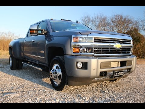2016 chevy silverado 3500hd high country 4x4 drw 13 025 gvwr slate gray www wilsoncountymotors. Black Bedroom Furniture Sets. Home Design Ideas