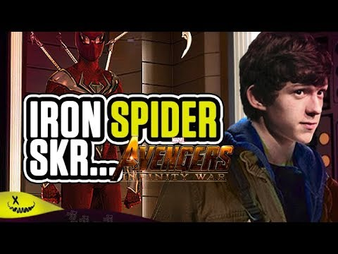 Avengers infinity war: Come ha Avuto Peter l'Iron Spider?