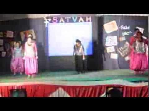 Jinx group dance,Satvam'13