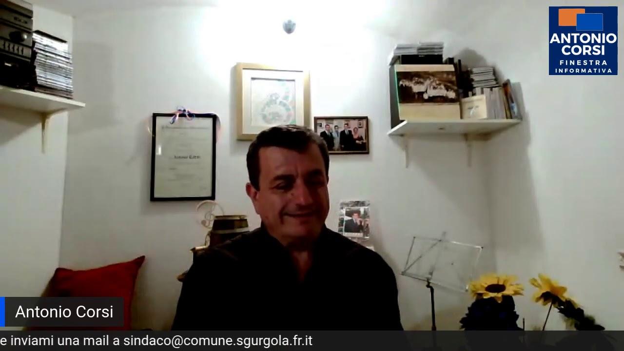 OBBLIGO DI MASCHERINE SUL TERRITORIO DI SGURGOLA ANCHE ALL'APERTO